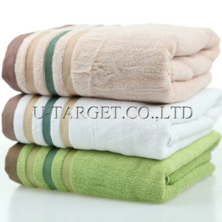 1 Piece New 2014 linghong Drying Absorbent Bath Towels For Adults Bamboo Washcloths