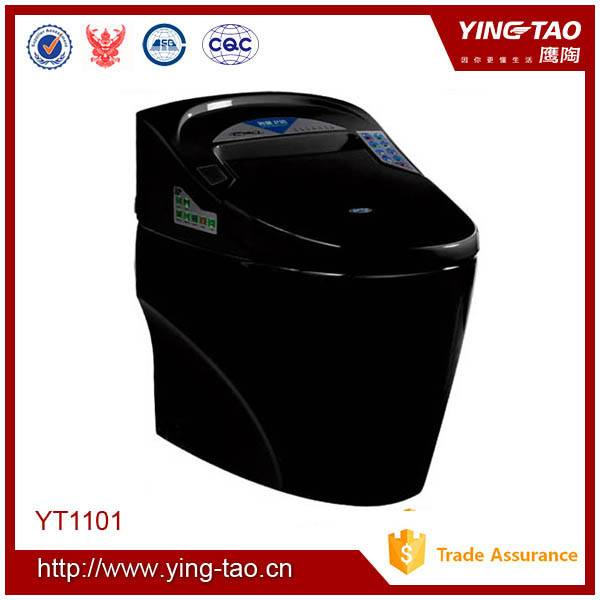 s-trap 300/400mm siphonic one piece smart toilet