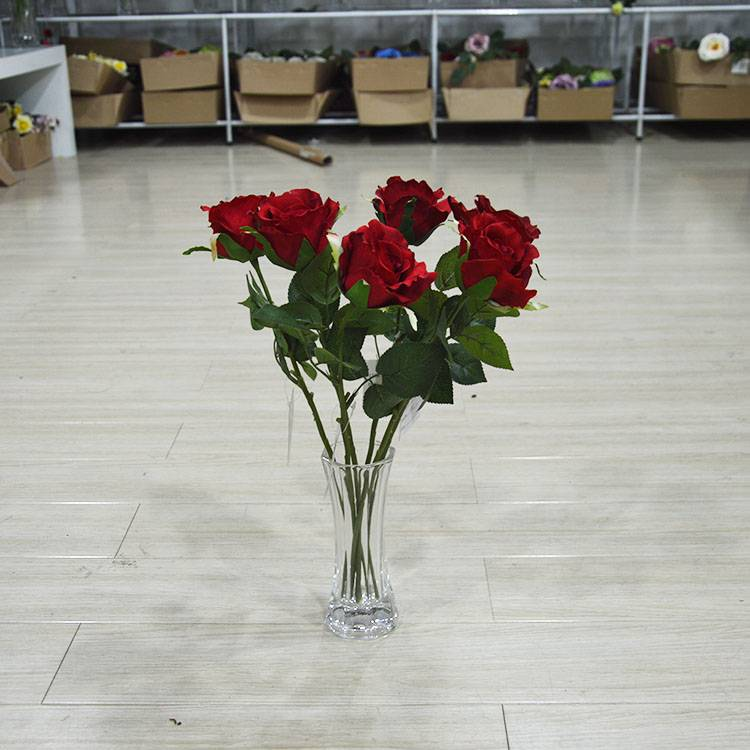 Cheap Wholesale Artificial Wedding Silk Flowers , Artificial Rose Flowers