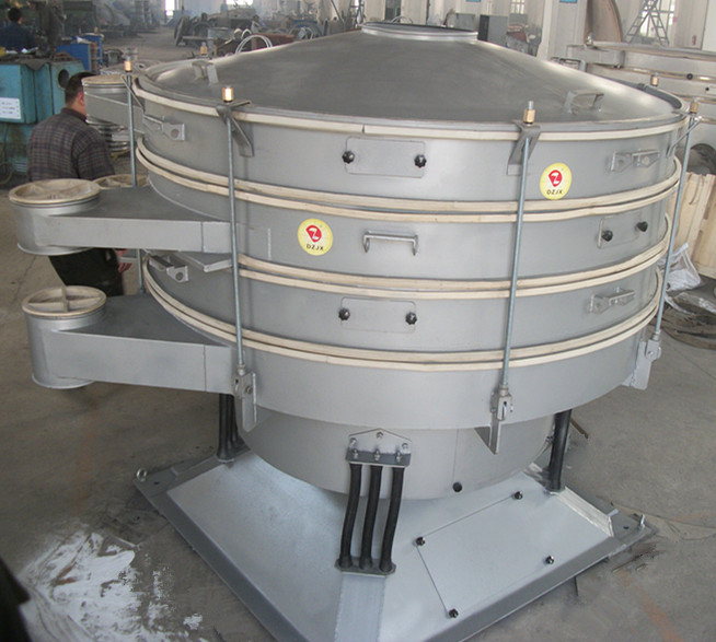 tumbler rotary vibrating screening sieving separator sifter machine