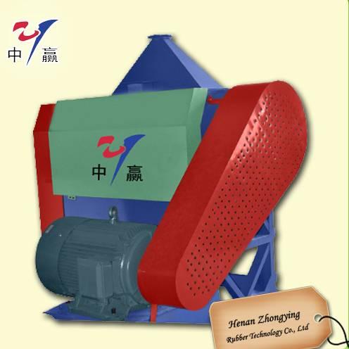 Henan Zhongying Tire Crushing Plant- Rubber Fine Crusher