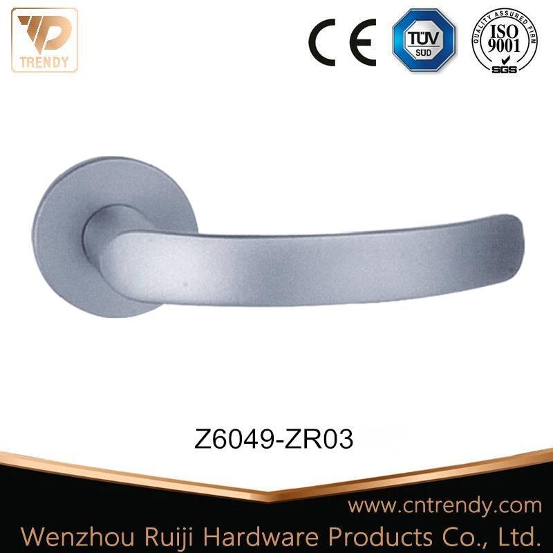 Country Style Assembled Tubular Door Lever Handle for Door