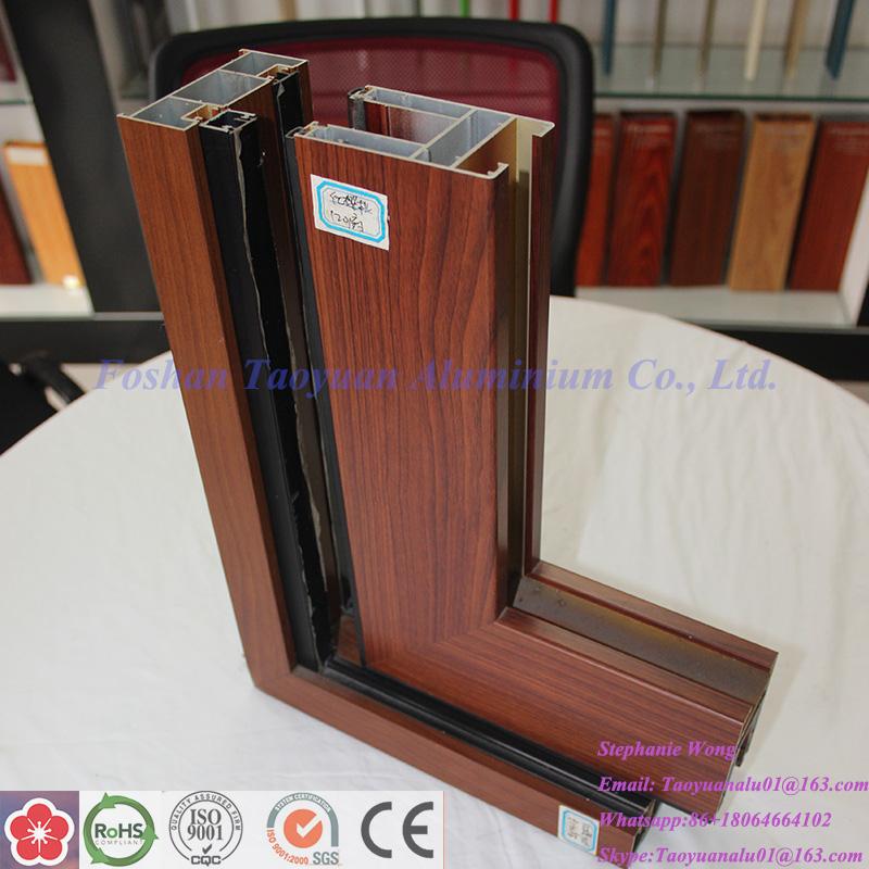 Extrusion Aluminium Frame Profile of Windows and Doors