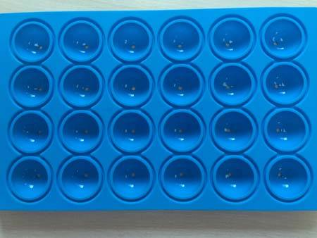 Silicone Ice Ball Tray Silicone Mold  With 24 Cavities /Ball Shaped