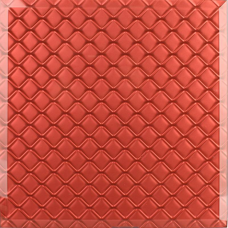3d glass tiles (gold Casting glass) / decoration glass