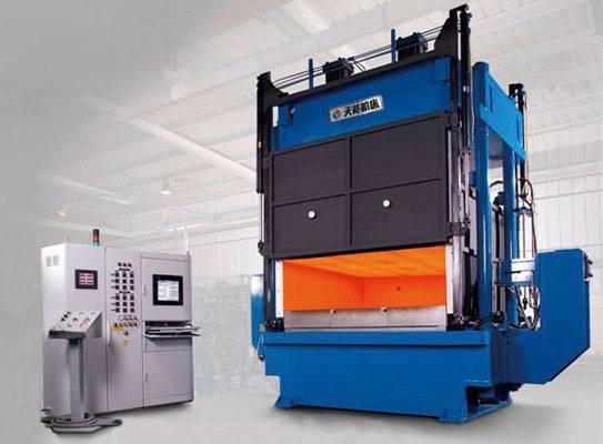 Super Plastic Forming hot press