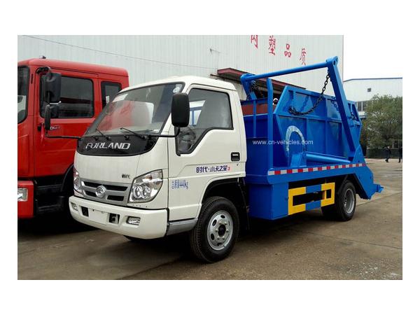 Forland 2 Ton Skip Loader Garbage Transport Truck