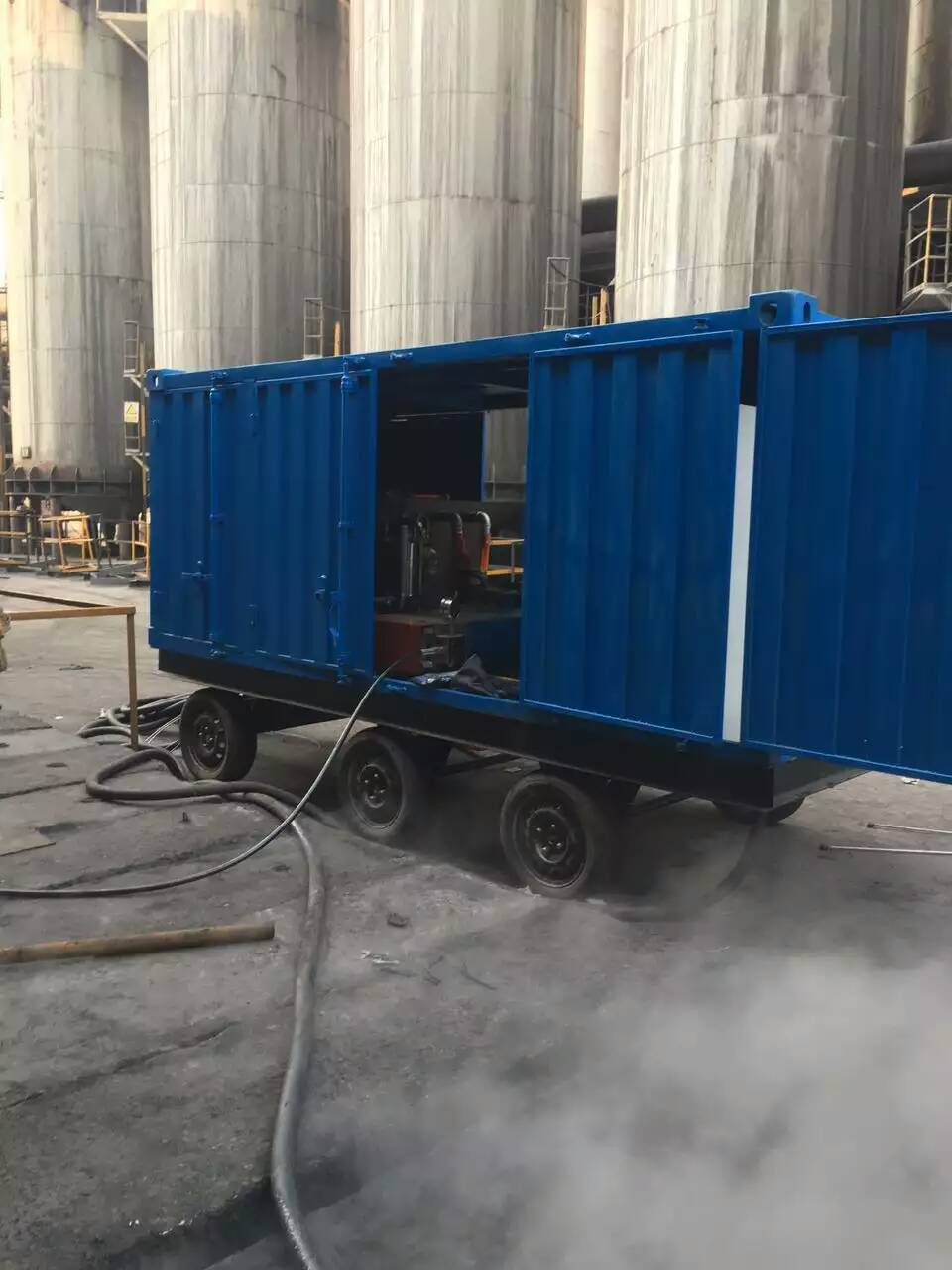 500 Bar Sewage Drain Cleaning Equipment High Pressure Cleaner