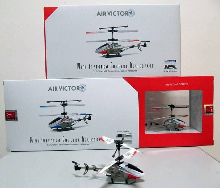 3CH Infrared Control Helicopters RC Mini Helicopter(Gyro)-AIR VICTOR-RC Helicopter