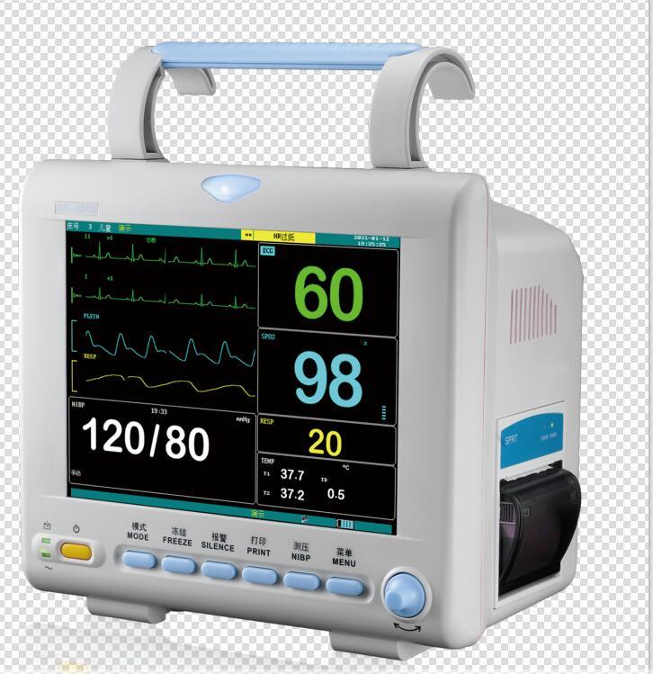 KN-601D transport multi parameter patient monitor a ambulance computer blood pressure monitor monito