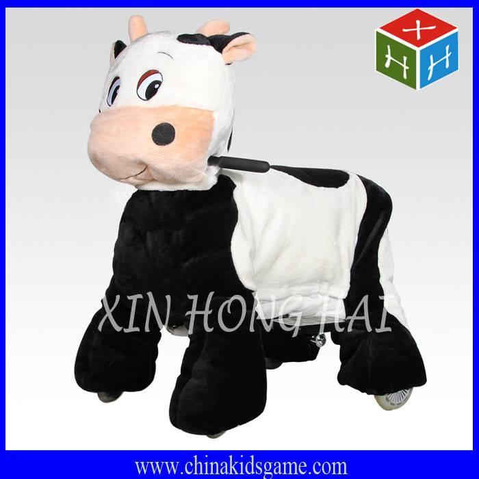 ZR-XHH2016 Popular kids game machine, remote control walking animal ride