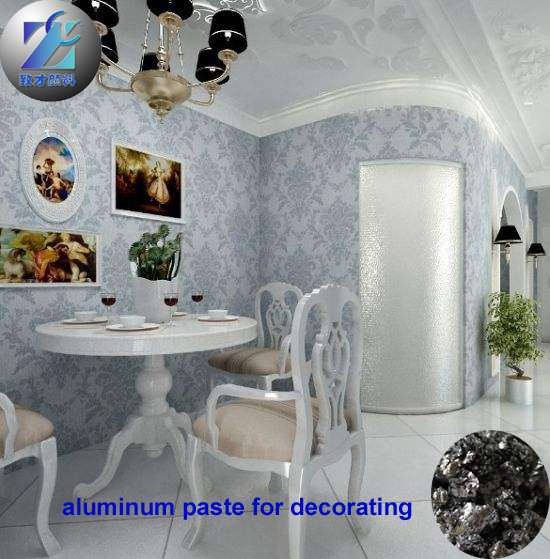 medium particle size sparkling effect non leafing aluminium paste