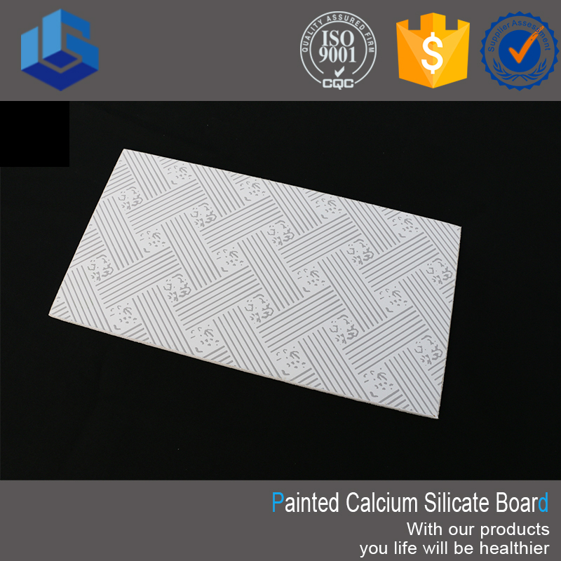 Embossed Calcium Silicate Ceiling Board