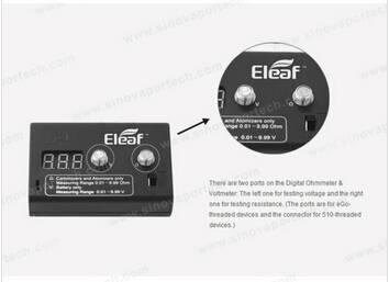 Eleaf Digittal Ohmeter 0.5-10ohm Ismoka Digital Voltmeter 2.5V-6.5V