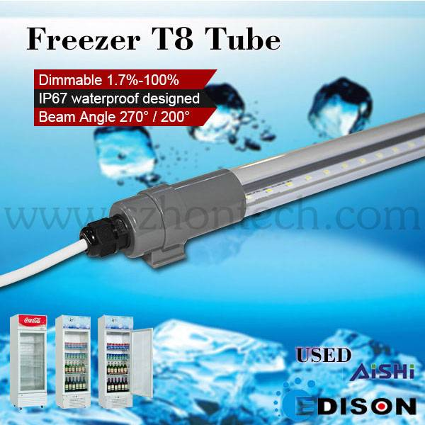 T8 16w IP67 Refrigerator led tube light