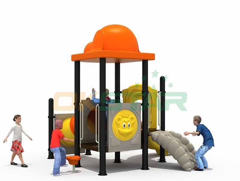 Durable Hot Sale Outdoor Slide Playground Set Custom Made Slide Kids Playground Outdoor