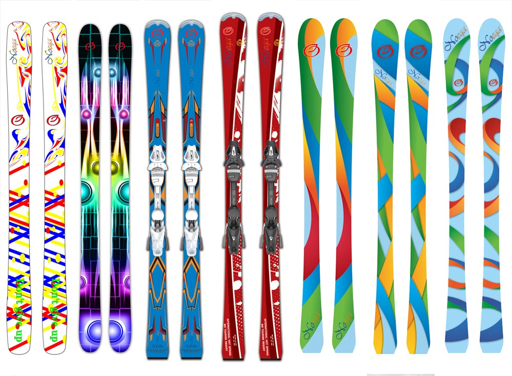 2017 newest skis make in china