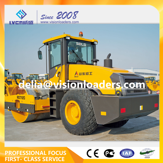 SDLG 12T Vibratory Road Roller RS7120 China RS7120 Road Roller for sale