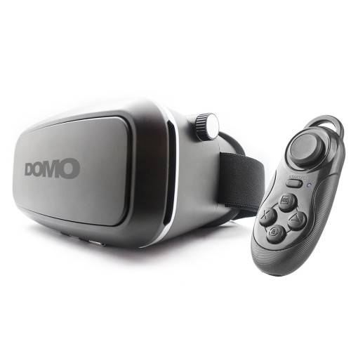 DOMO nHance VR7 Universal Virtual Reality 3D and Video Headset with external controller for Smart Ph