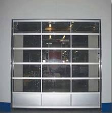 Transparent industry slide up door, sliding door, fleet door, induced door, remote door, infrared do