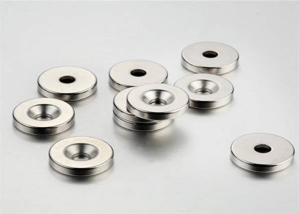 Customzied Ring Permanent NdFeB/Neodymium Magnet, Rare Earth Magnet
