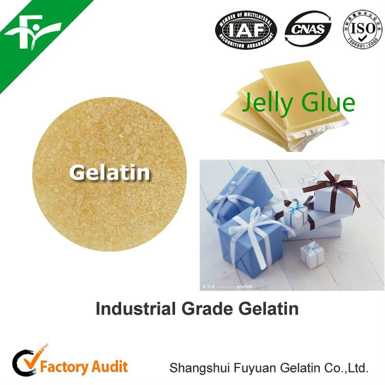 Industrial gelatin for paper box/gift box/carton