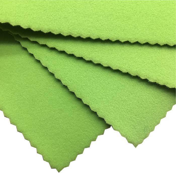 new arrival 2mm neoprene brushed polyester terry fabric warm keeping for orthopedic supports