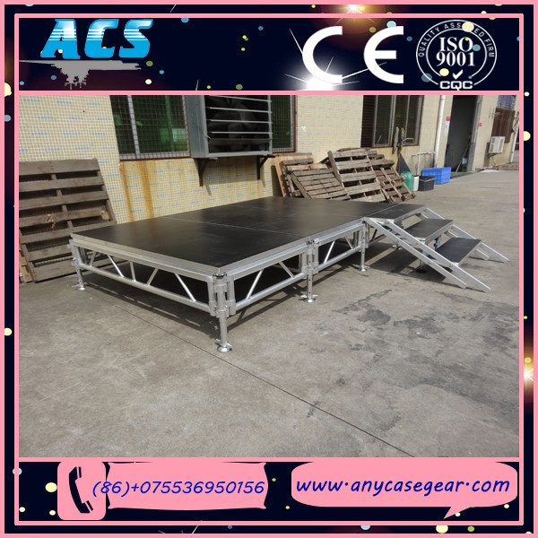 Performance aluminum stage,4 legs stage,riser stage truss