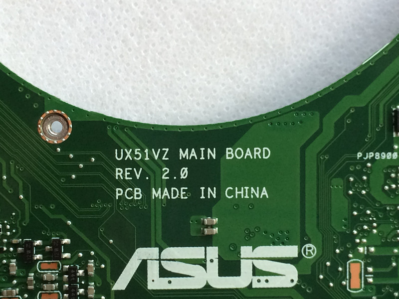 New UX51VZ motherboard for ASUS UX51VZA REV2.0 with I7-3612QM CPU mainboard working