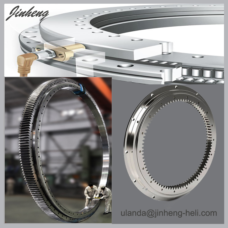 Single row slewing bearing for crane excavator 013.25.630