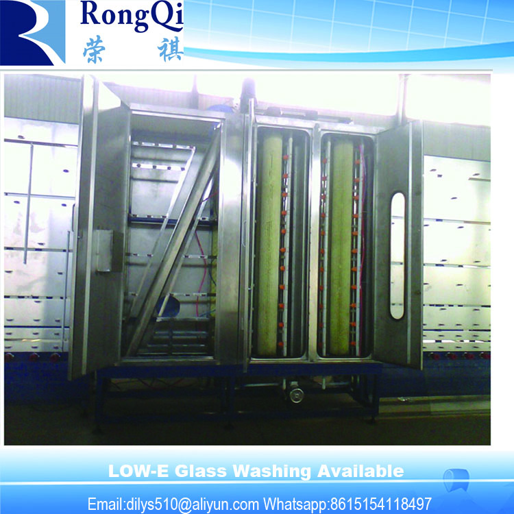 Vertical Automatic Low-E Glass Washing Machine