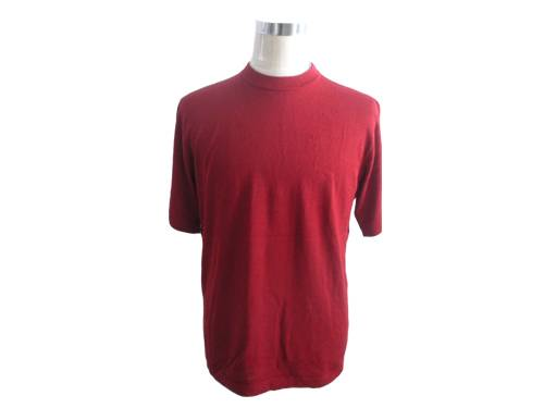 men s silk/cotton T-shirt