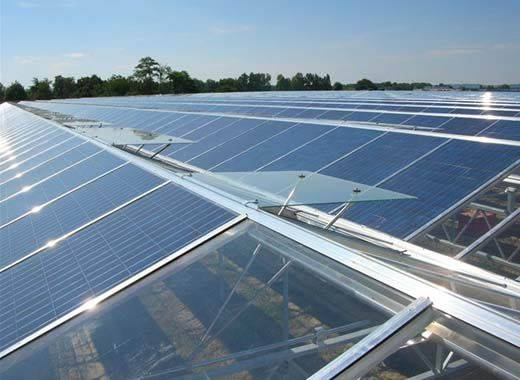 Photovoltaic Greenhouse with High Technology