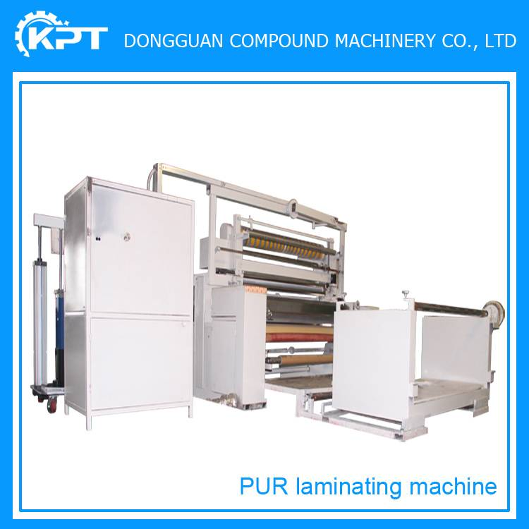solventless pur soft cloth laminating machine