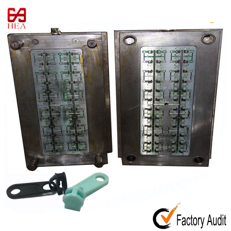 plastic inejction mould for #3 #5 #8 and #10 zipper slider