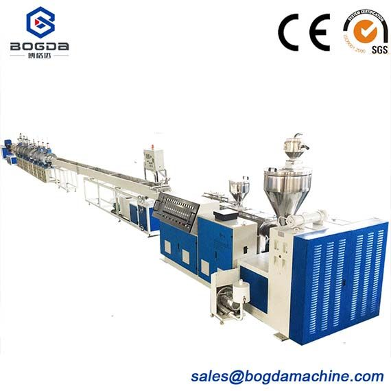 Manufacture PS Foam Frame Extrusion Profile Making Machine