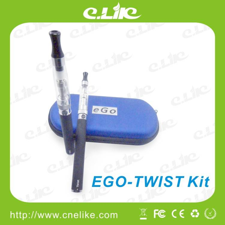 Hottest Rechargeble E Cigarette, Variable Voltage with EGO Twist Battery