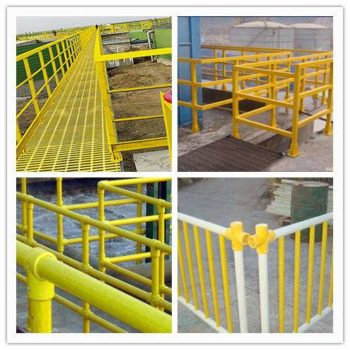 high strength and light weight FRP railing