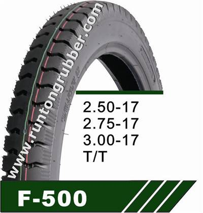 Tubeless tire 2.50-17 2.75-17 2.50-16 2.75-18 3.00-17 3.00-18