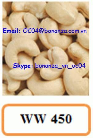 Cashew Nut White Whole 450 - WW 450