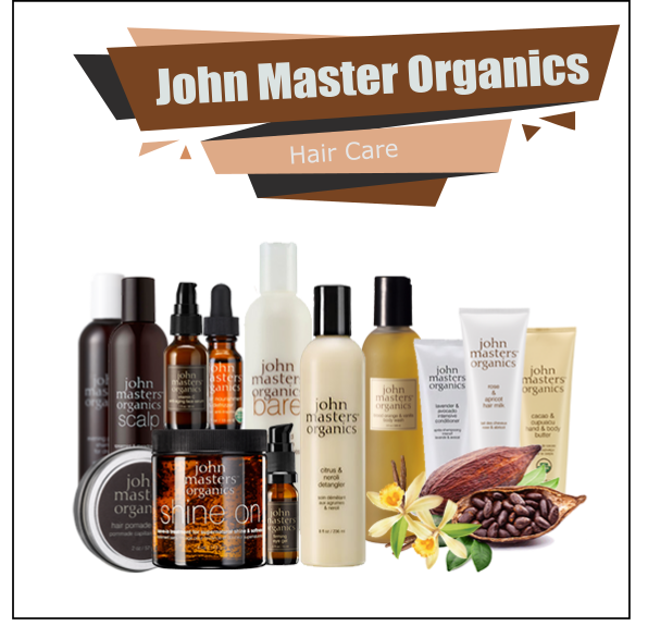 John Master Organics - Professional Hair Care Cosmetics