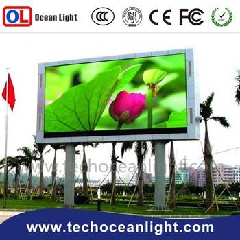 Full color high definition pixel pitch 10mm outdoor Led display
