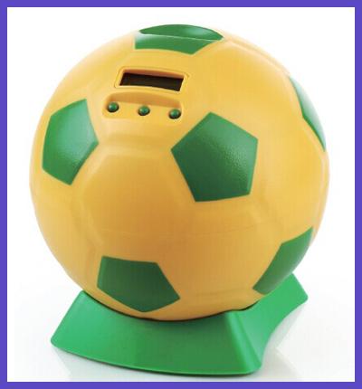Football Shape Digital Piggy Bank