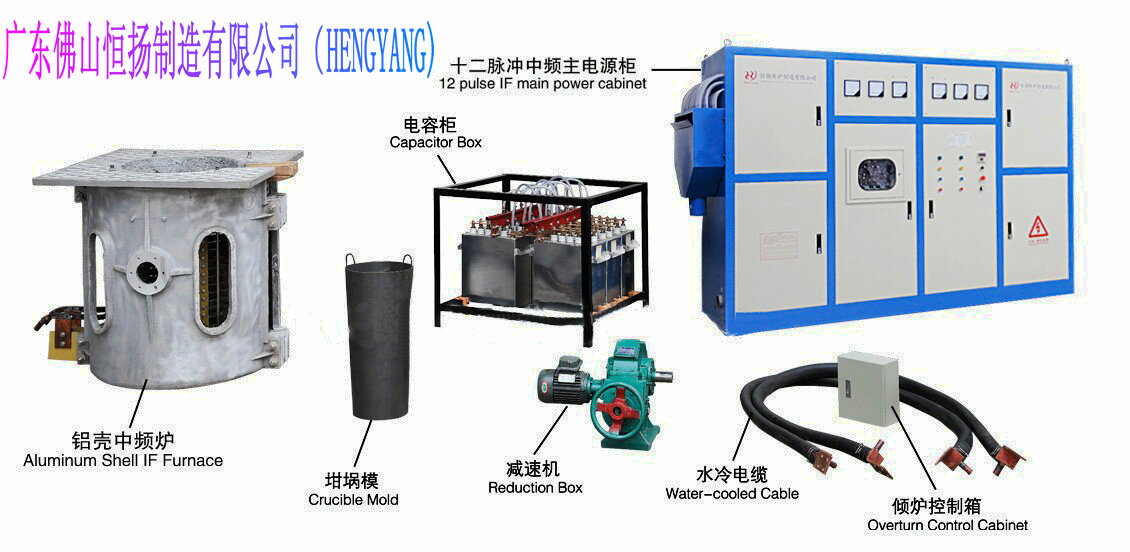 China professional Factory Induction Melting Furnace for sale
