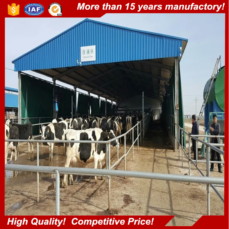 High quality prefabricated functional house prefab farm building for cattle shed