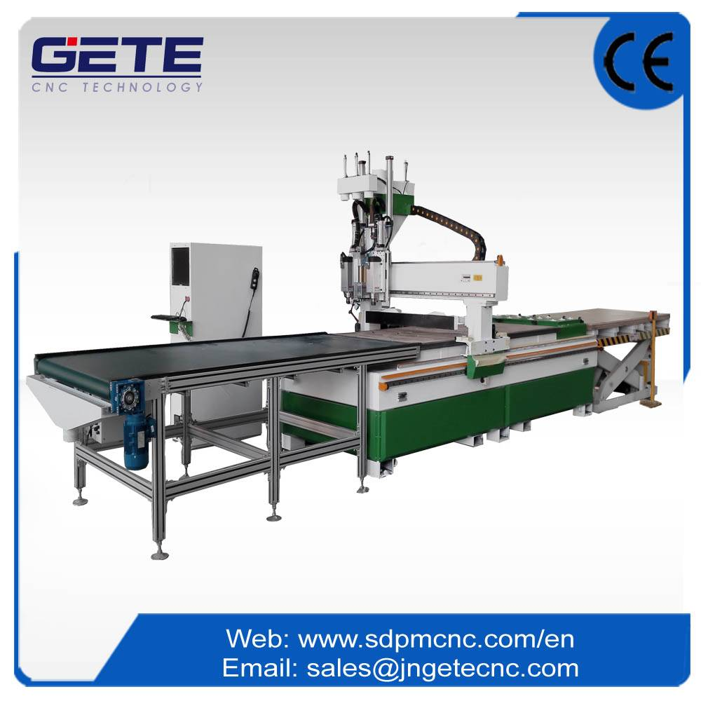 Wood Cutting Machine With Automatic Feeding GN-GA2DLU