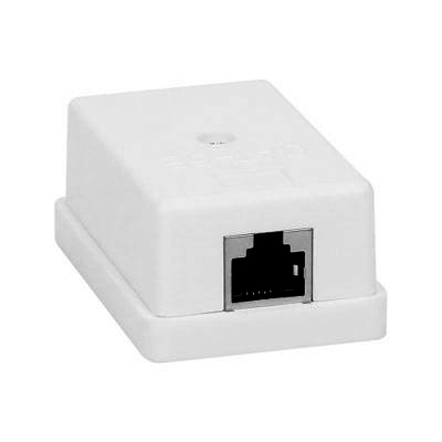 Network Mount Box Coupler RJ45 to RJ45 Screw-type
