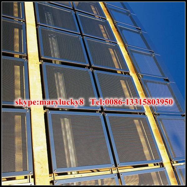 3mm Aluminum Expanded Metal Mesh for building facade