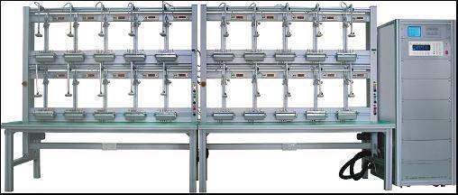 Three Phase Energy Meter Test Bench