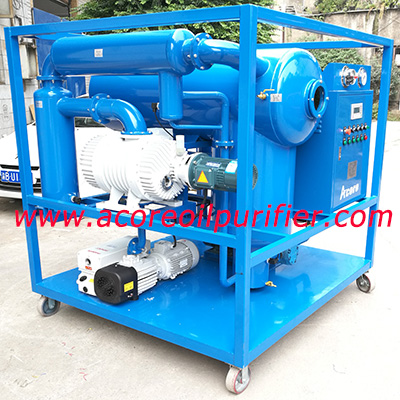 VTP Vacuum Insulating Oil Purifier Machine